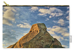Turtle Rock Carry-all Pouch by Endre Balogh