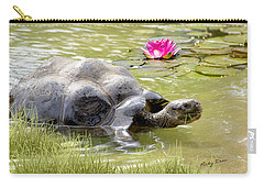 Turtle Takes A Swim Carry-all Pouch