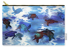 Turtles In Heaven Carry-all Pouch
