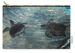 Turtles Quite Different Carry-all Pouch
