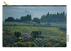 Carry-all Pouch featuring the photograph Tuscan Afternoon by Jean Haynes