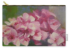 Tuscan Flower Pot Oil Painting Carry-all Pouch