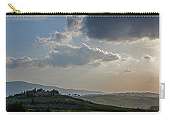 Carry-all Pouch featuring the photograph Tuscan Hillside by Jean Haynes