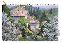 Tuscan  Hilltop Village Carry-all Pouch