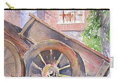Tuscan Ox Cart Carry-all Pouch