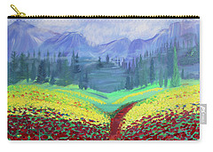Tuscan Poppies Carry-all Pouch