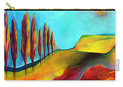 Tuscan Sentinels Carry-all Pouch by Elizabeth Fontaine-Barr