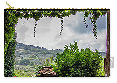 Tuscan Street View Carry-all Pouch by Jean Haynes