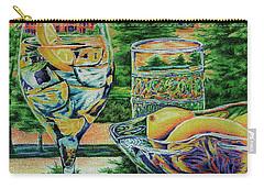 Tuscan Summer Lemonade  Carry-all Pouch by Peter Piatt