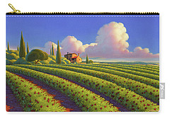 Carry-all Pouch featuring the painting Tuscan Summer by Robin Moline