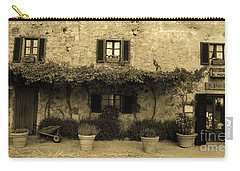 Carry-all Pouch featuring the photograph Tuscan Village by Frank Stallone