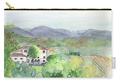 Tuscan Vineyards Carry-all Pouch