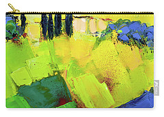 Carry-all Pouch featuring the painting Tuscany Colors by Elise Palmigiani