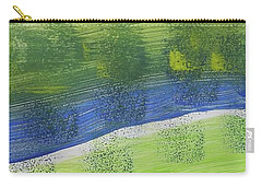Tuscany Garden Carry-all Pouch by Don Koester