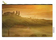 Tuscany In Golden Carry-all Pouch