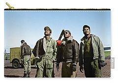 Carry-all Pouch featuring the photograph Tuskegee Airmen by Granger