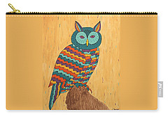 Tutie Fruitie Hootie Owl Carry-all Pouch