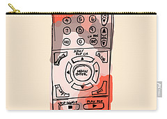 tv remote I Carry-all Pouch