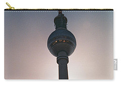 Tv Tower Berlin Carry-all Pouch