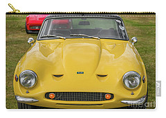 Carry-all Pouch featuring the photograph Tvr Vixen S2 1969 by Adrian Evans