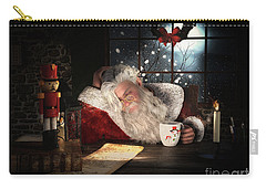Twas The Night Before Christmas Carry-all Pouch by Shanina Conway