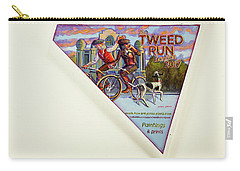 Tweed Run London 2 Guvnors  Carry-all Pouch by Mark Jones