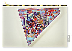 Tweed Run London Princess And Guvnor  Carry-all Pouch by Mark Jones
