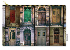 Carry-all Pouch featuring the photograph Twelve Gates Of My Hometown by Jaroslaw Blaminsky