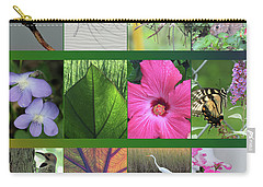 Carry-all Pouch featuring the photograph Twelve Months Of Nature by Peg Toliver