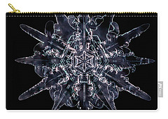 Twelve Sided Snowflake Carry-all Pouch