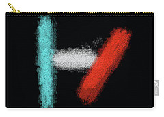 Twenty One Pilots Black Abstract Carry-all Pouch