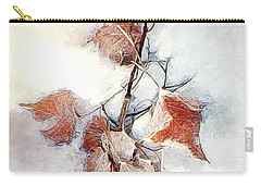 Carry-all Pouch featuring the photograph Twigged by Pennie  McCracken