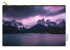 Twilight Over The Lake Carry-all Pouch by Andrew Matwijec