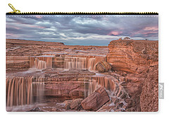 Twilight At Chocolate Falls Carry-all Pouch