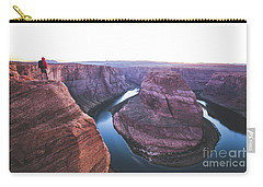 Twilight At Horseshoe Bend Carry-all Pouch by JR Photography