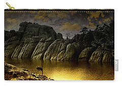 Twilight At The Lake Carry-all Pouch