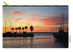 Twilight At The Marina Carry-all Pouch