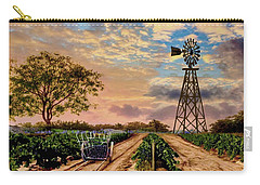Twilight At The Vineyard Carry-all Pouch