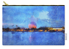 Twilight Epcot World Showcase Lagoon Wdw 02 Photo Art Mp Carry-all Pouch