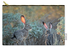 Twilight Jackrabbits Carry-all Pouch