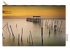 Carry-all Pouch featuring the photograph Twilight by Jorge Maia