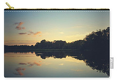 Carry-all Pouch featuring the photograph Twilight by Karen Stahlros