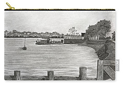 Twilight On Tomales Bay Carry-all Pouch