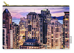 Twilight Over English Bay Vancouver Carry-all Pouch