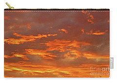 Twilight Sky Carry-all Pouch by Val Miller
