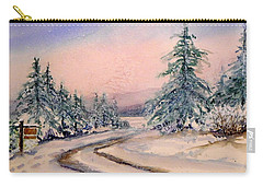 Twilight Snow Carry-all Pouch