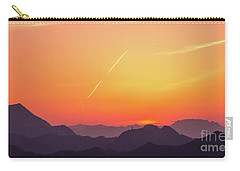 Carry-all Pouch featuring the photograph Twilight by Tatsuya Atarashi