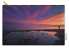 Twilight Time Carry-all Pouch by Ralph Vazquez