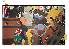 Twilight Zone 2017 Carry-all Pouch by Erika Chamberlin