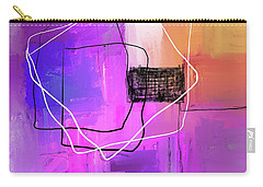 Carry-all Pouch featuring the mixed media Twilight Zone by Eduardo Tavares